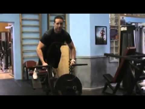 T Bar Back Row Exercise by Jon G
