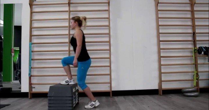 Best Leg Exercises: Step ups