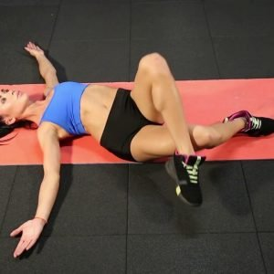 Legs Exercise: Leg Crossover Stretch