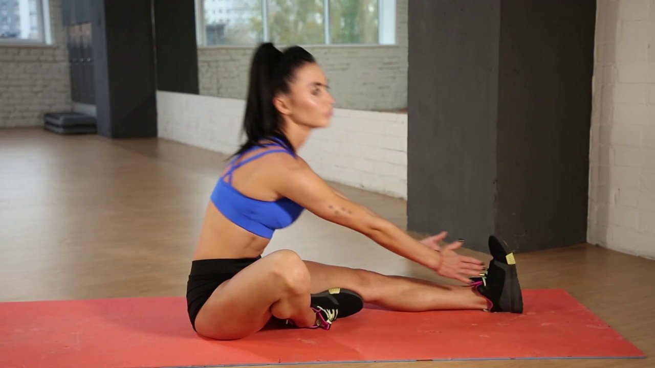 Modified Hurdlers Stretch Exercise