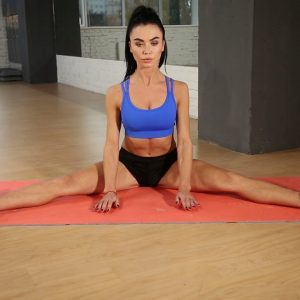 Seated Straddle Stretch Exercise